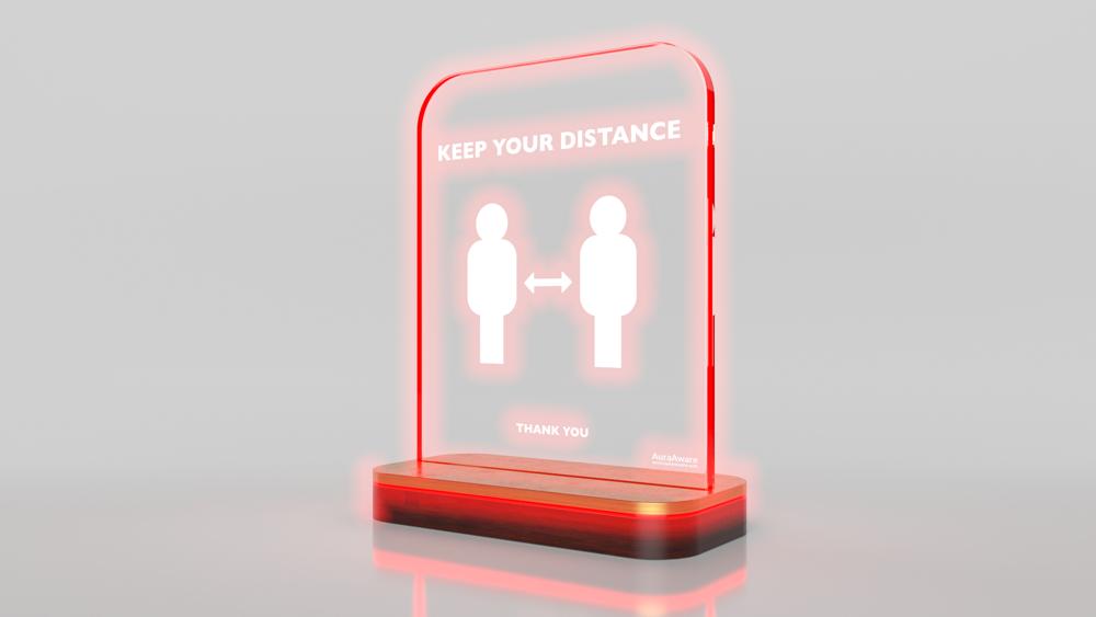 Unternehmen in Coronazeiten: 1,5 Meter Abstand halten mit einem intelligenten Abstandsmesser