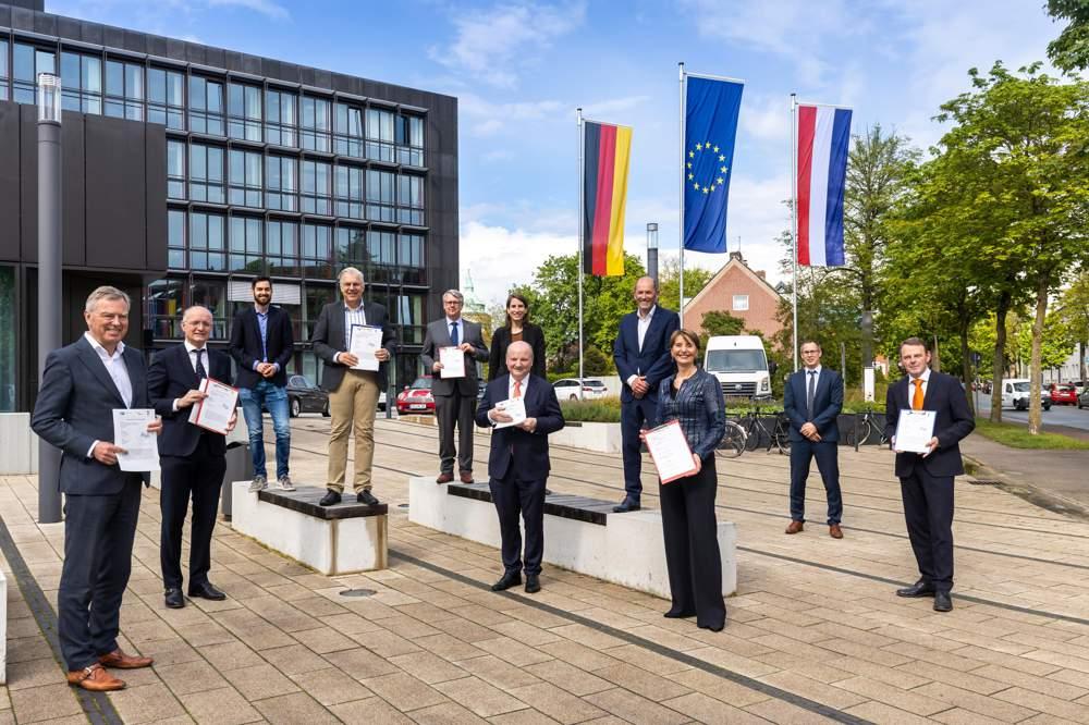 Nord-Westfalen und die Niederlande wollen die Wettbewerbsposition der Grenzregion stärken